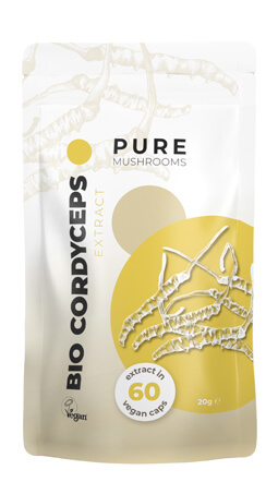 Bio Cordyceps Pure Mushrooms paddenstoelsupplement