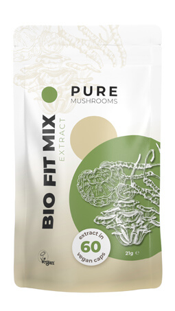 Bio Fit Mix Pure Mushrooms paddenstoelsupplement